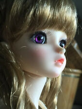 1Pair BJD Doll Eye 14mm The light Refraction Change Blue/Purple  Mixed Color