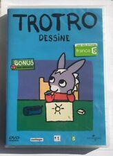 Trotro Dessine French DVD Educational Video Brand New Sealed