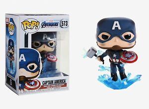 Funko Pop Marvel Avengers Endgame: Captain America Bobble-Head #45137