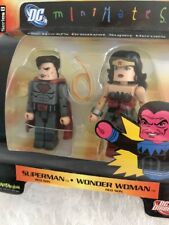 DC Direct MiniMates Superman And Wonder Woman Red Son Series 8 NIB HTF