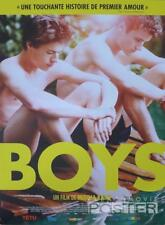 BOYS / JONGENS - MEN / GAY - ORIGINAL SMALL FRENCH MOVIE POSTER