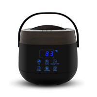 LED Wax Warmer Electric Max Pot Heater Machine Body Hair Removal Home Melter