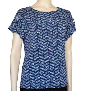 Adrienne Vittadini Abstract Top Size S New