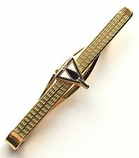 Gift Boxed Masonic Triangle & Trowel Enamel Crested Tie Slide (N345)