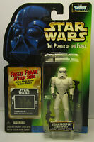 1997 Kenner Star Wars Stormtrooper - POTF 2 Freeze Frame New & Sealed Figure MOC