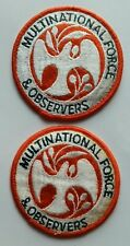 Multinational Force and Observers Army Patch MFO SSI Lot of 2