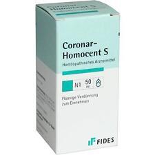HOMOCENT Coronar S Tropfen 50ml PZN 3687121