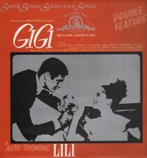 GIGI - LILI - LESLIE CARON - MGM SILVER SOUNDTRACK SERIES - VINYL LP - SEALED