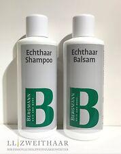 Pulizia-SPECIALE SHAMPOO & speciale Balsamo 1000 ML Bergmann in puro per capelli Parrucche