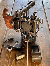 Sony Alpha A6300 24.2MP Digital Camera - Black with Tilta Camera Cage Rig