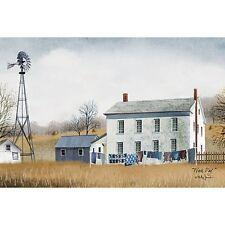 Billy Jacobs Wash Day Farm Print 18 x 12