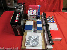 Chevy 350 5.7 MASTER Engine Kit Flat PERF Pistons+ 279 Comp Thumpr Cam+gaskets+