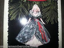 HALLMARK Keepsake 1995 HOLIDAY BARBIE DOLL #3 in Series CHRISTMAS ORNAMENT New