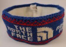 The North Face Vintage Headband - Brown Label Tag USA Made Original - Wool RARE!