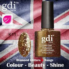 UK SELLER Gdi Nails Diamond Glitters K11 UV/LED Gel Soak Off nail polish