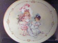 1989 Maud Humphrey Bogart Little Ladies PLAYING BRIDESMAID Ltd Ed Plate  MIB
