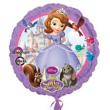 "Disney Sofia the First birthday party 17 "" rond ballon Plat"