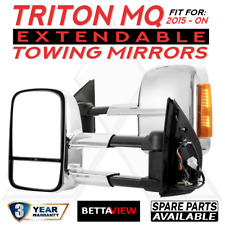 BettaView Extendable Caravan Towing Mirrors MQ TRITON 2015 To Current INDICATOR