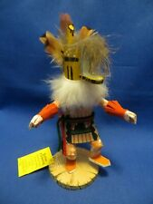 NEW Beautiful Navajo Masked Kachina Honey Bear Doll Removable Mask!  8 inches