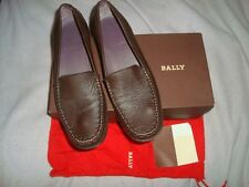 BALLY UK 7 EU 40 US 9.5  BROWN   Leather  loafers Shoes RRP £ 300.00