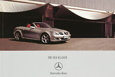Mercedes SLK Prospekt 2006 11/06 Autoprospekt brochure prospectus Katalog Auto