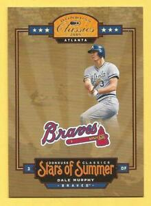 DALE MURPHY 2005 Donruss Classics Stars Of Summer #4 Braves #d 0826/100