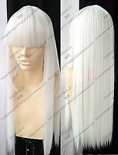 NEWJF1173 long fancy sexy design white health fashion Hair wig wigs for women