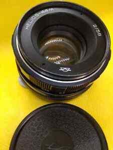 EXC!!! Helios 44М f2 58mm Russian Lens Manual m42 Portrait Soviet DSLR
