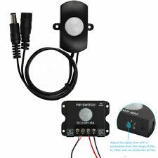 Mini PIR 5A&30A Infrared Human Body Detect Sensor for Single Color LED Strip