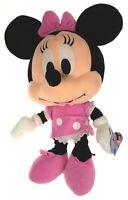 "Pink Minnie Mouse Big Head 18"" Plush Cutie Disney Mickey Clubhouse Stuffed Doll"