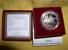Österreich 20 Euro Silber 2004 PP  Ferdinand MAX