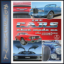 THE CARS THAT MADE US - THE COMPLETE SERIES   *BRAND NEW DVD BOXSET***