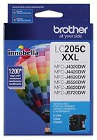 Brother Innobella Lc205c Ink Cartridge - Cyan - Inkjet - Super High Yield - 1200