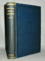 Antique Psychology Psychiatry Medical Book Nervous Mental Disorders D. Core 1922