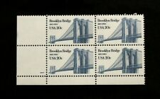 US Stamps #2041 ~ 1983 BROOKLY BRIDGE 20c Plate Block MNH