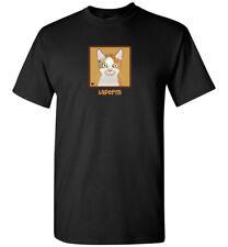 LaPerm Cat Cartoon T-Shirt Tee - Men Women's Youth Tank Short Long Sleeve