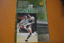 Celtic Home Teams C-E Written - on Football Programmes