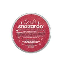 Snazaroo Sparkle Red 18ml Pot Face and Body Paint Party
