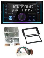 JVC Bluetooth DAB CD MP3 2DIN USB Autoradio für Toyota Avensis 2003-2009