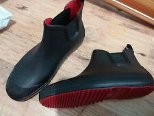 Rain Boots Men Short Wellies