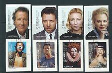 AUSTRALIA 2009 FILM LEGENDS SET OF 8 SELF ADHESIVE FINE USED