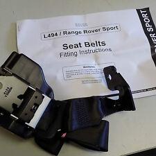 Genuine Rangerover Sport E3 2014- Rear middle seatbelt Black LR076620 New boxed