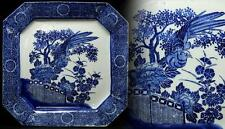 Japanese Old IMARI Plate Dish / 古伊万里 印判花鳥図 / W 31× H 5 [cm] / MEIJI PERIOD