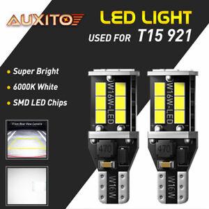 LED Backup Reverse Lights Bulbs White 921 912 2835 916 922 T15 6000K Xenon White