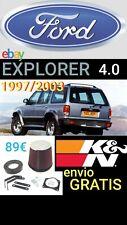Kit admision RACING Ford EXPLORER 4000 V6 1997/2003 K&N 57L-2500.