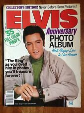 ELVIS Anniversary Photo Album 1978 January 8, 1935 August 16, 1977 35 Full Color