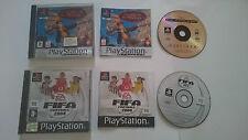 JUEGOS DISNEY EL PLANETA DEL TESORO Y FIFA 2004 PLAYSTATION 1 PS1.PSX.PAL ESPAÑA