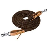 """5//8/""""x100 feet double braid polyester//mfp reins leads lunge lines"""