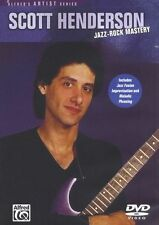 Scott Henderson Jazz Rock Mastery Learn to Play Guitar Music Tutor DVD