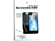 5x professional clear LCD film screen protector for iPhone 5 + free screen cloth